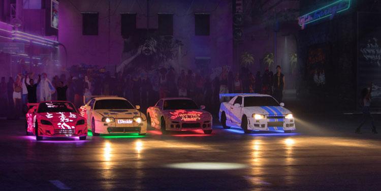 FAST&FURIOUS LIVE SHOW - รถซิ่งจากหนัง F&F ยกขบวนขับสตั๊นท์โชว์สุดอลังการ