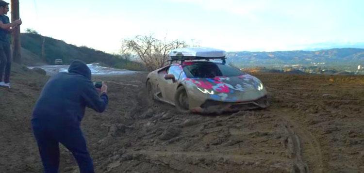 [วิดีโอ] LAMBO HURACAN ใจถึง...วิ่งลุยออฟโรดแบบไม่เสียดายรถเลยแม้แต่น้อย