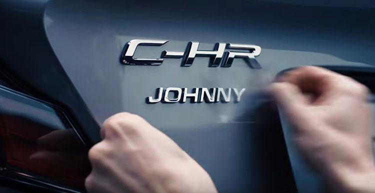 TOYOTA C-HR แจกฟรี CUSTOM NAME PLATE สำหรับผู้จองรถยนต์ภายวันนี้ ถึง 28 ก.พ.