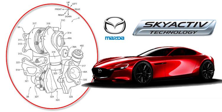 MAZDA จดสิทธิบัตร 'ซีเควนเชียล-เทอร์โบ' เทคโนโลยีล่าสุดของ SKYACTIV