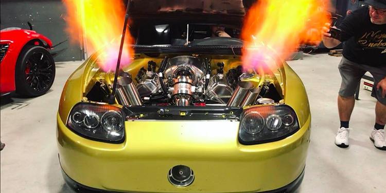 เปิดสเปค SUPRA บ้าพลัง ...เจ้าของแรงม้า 2500HP จากแดนมะกัน